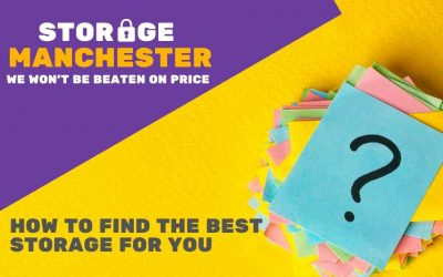 Finding The Right Storage in Manchester