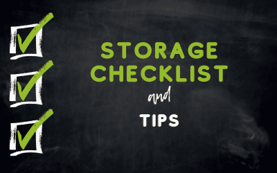 Create an Inventory for your storage unit